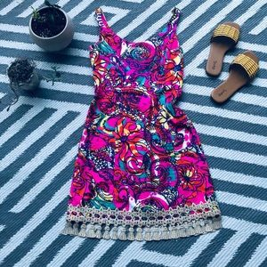 Lily Pulitzer tassel dress